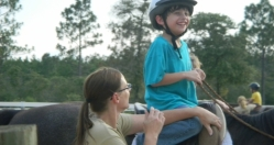 Nicholas having a great time on Solomon!